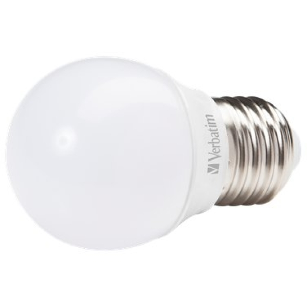 Lampadine Led Verbatim - Mini Globe - E27 - 4.5W - 350 - 2700 k - 74.5x45.0mm - 52642