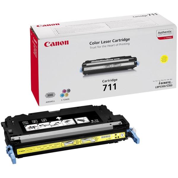 Toner Canon 711 Y (1657B002) giallo - 754689