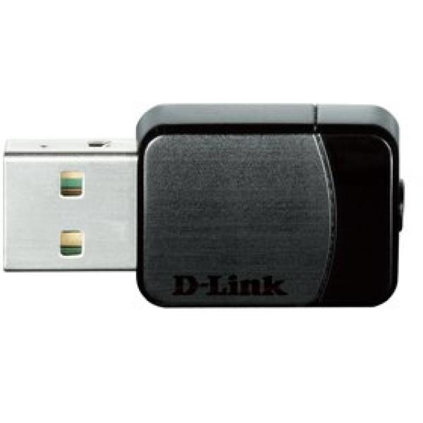 Wi-Fi adattatore - D-Link DWA-171 Ingram - nero - DWA-171