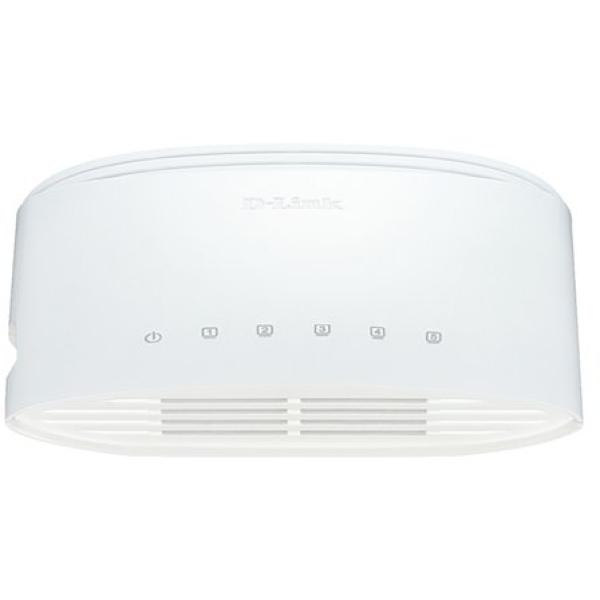 Ethernet Switch D-Link DGS-1005D 5 Porte Ingram - bianco - DGS-1005D
