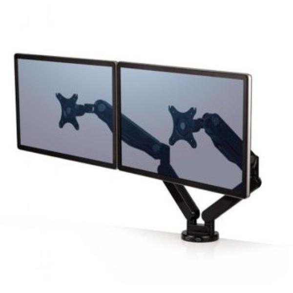 Braccio monitor doppio Platinum Series Fellowes - 8042501
