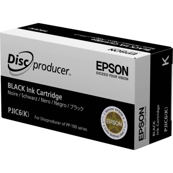 Cartuccia Epson PJIC6 (C13S020452) nero - B00191