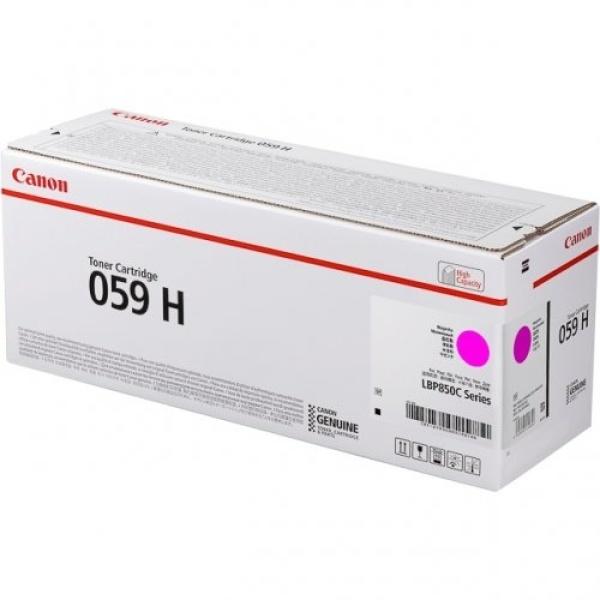 Toner Canon 059H (3625C001) magenta - B00196