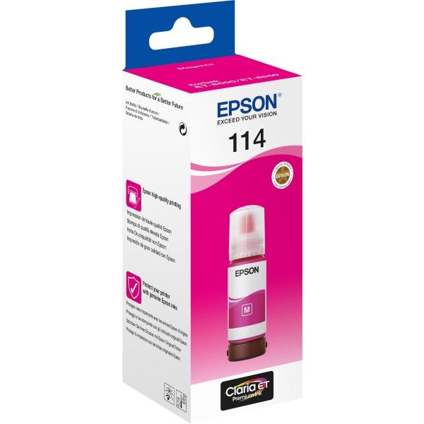 Flacone Epson 114 (C13T07B340) magenta - B00215