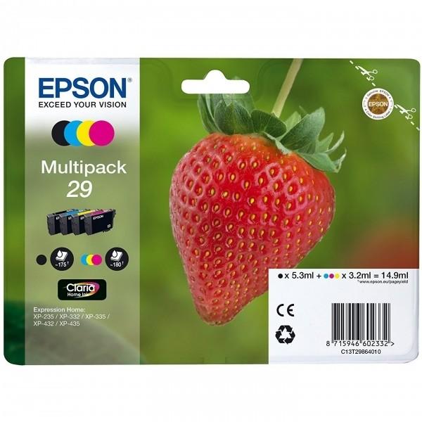 Cartuccia Epson 29 (C13T29864511) nero-ciano-magenta-giallo - B00245