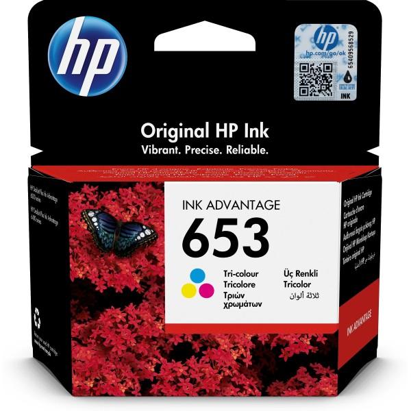 Cartuccia HP 653 (3YM74AE) colore - B00251