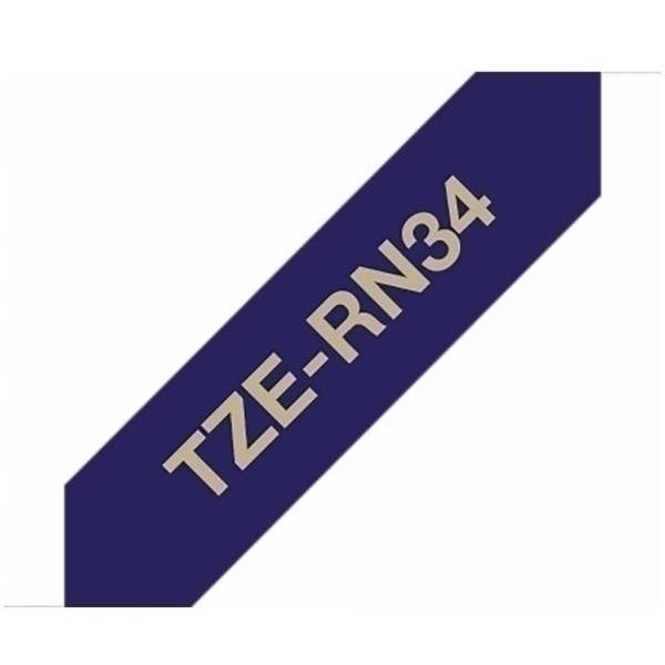 Nastro Brother TZERN34 oro-blu - B00316