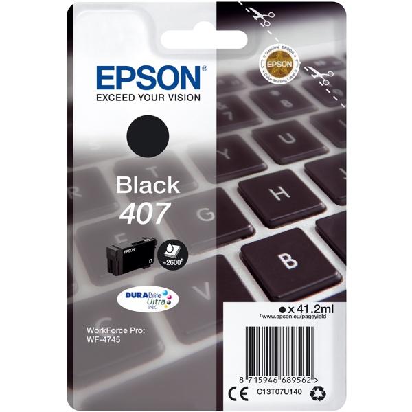 Cartuccia Epson C13T07U140 nero - B00321