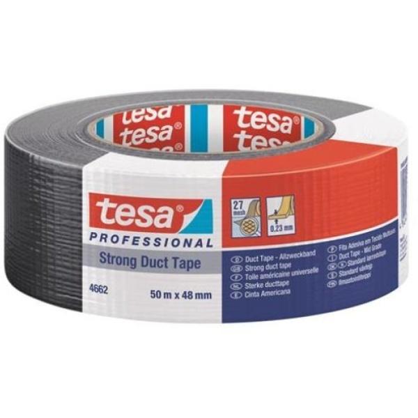 Nastro isolante tesa duct 4662 in tessuto plastificato trasparente 27 mesh - R00651