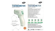 Termometro InfraRossi Contactless per la temperatura corporea e di superfici - GP-300 - D02667