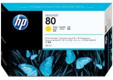 Cartuccia HP 80 (C4848A) giallo - 009300