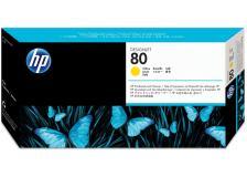 Testina di stampa HP 80 (C4823A) giallo - 009386