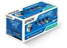 Toner Epson 0268 (C13S050268) nero-ciano-magenta-giallo - 046732