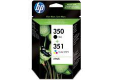 Cartuccia HP 350/351 (SD412EE) nero 3 colori - 129966