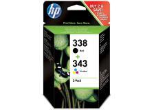 Cartuccia HP 338/343 (SD449EE) nero -colore - 132140