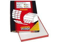 Etichette adesive Markin - 210x99 mm - Nr. etichette / foglio 3 - X210C520 (conf.100)