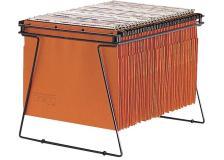 King Mec - 00037700 - supporto per archivio di cartelle sospese interasse 33 e 39 cm