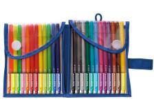 Penna a sfera Tratto pen Tratto - 0,5 mm - bustina - assortiti - 808100 (conf.24)