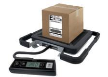 Bilancia pesapacchi Rubbermaid - 100 kg - 200 g - 41x40x5 cm - nero - S0929030