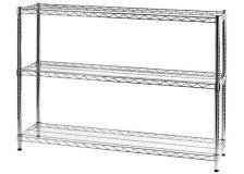 Scaffalature in filo d'acciaio Serena Group - 3 - 35x120x90 cm - 3X351290