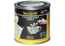 Pittura effetto lavagna Securit - 250 ml - nero - PNT-BL-SM