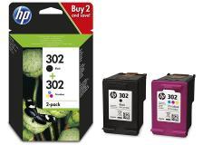Cartuccia HP 302 (X4D37AE) nero -colore - 163992