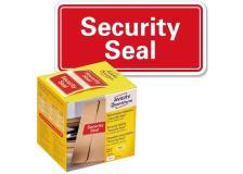 """Sigilli di sicurezza Avery """"Security Seal """"- 38x20 mm - 200 et/rotolo - rosso - 7311"""