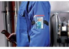 Fascia portabadge outdoor SECURE Durable - 8414-19 (conf.10)