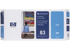 Testina di stampa HP 83 (C4961A) ciano - 174370