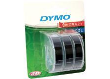 Nastro Dymo 9mm x 3m (S0847730) nero - 241628