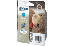 Cartuccia Epson T0612/blister RS+RF (C13T06124020) ciano - 242310