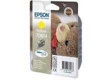 Cartuccia Epson T0614/blister RS+RF (C13T06144020) giallo - 242313