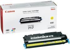 Toner Canon 717 Y (2575B002) giallo - 242904