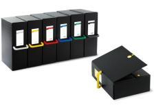 Scatole Portaprogetti Big Next Sei Rota - 20 Cm - Nero - 68102010