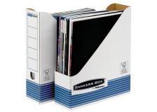 Sistema Di Archiviazione Bankers Box System Fellowes - Portariviste - A4 - 31,1X7,8X25,8 Cm - Nessuna - 0026301 (Conf.10)