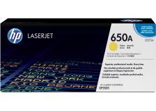 Toner HP 650A (CE272A) giallo - 352021