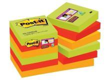 Foglietti Post-it® Super Sticky Marrakesh Post-It - 47,6x47,6 mm - 622-12SSMAR-EU (conf.12)