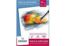 Blocchi per olio e acrilico Canson - A3 - 200005786