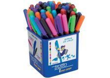 Penna a sfera Tratto 1 - barattolo Tratto grip - assortiti - 812500 (conf.60)