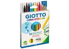 Pastelli a cera Giotto Strong 3 in 1 Giotto - 281800 (conf.12)