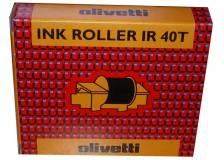 Ink roll Olivetti IR40T (81129) nero-rosso - 713757
