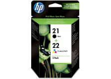 Cartuccia HP 21/22 (SD367AE) nero -tricromia - 823012