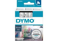 Nastro Dymo 24mm x 7m - 53710 (S0720920) nero-trasparente - 859816