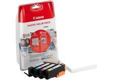Serbatoio Canon CLI-571 B/C/M/Y \\ + 50 FOGLI PP (0386C006) nero -colore - B00479