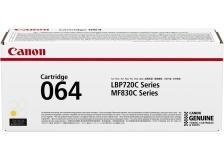 Toner Canon 064 (4931C001) giallo - B00613