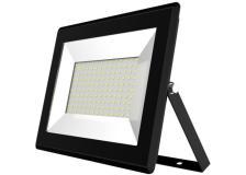 Faro proiettore LED slim a largo fascio luminoso 100w 6400k pressofusione - 100501CFS - D02575