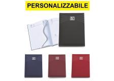 Agenda giornaliera personalizzabile con Vostro logo vari colori e formati - D03581