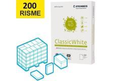 Bancale Carta A4 Riciclata Bianca Steinbeis Classic White 200 risme - D03601