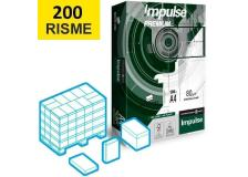 Bancale Carta A4 Impulse Premium - 80 g/m², spessore 105 µm, punto di bianco cie 161da 200 risme - D06655
