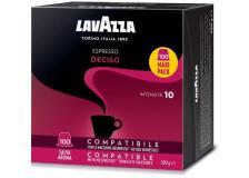 Capsule caffè Lavazza gusto DECISO compatibile Nespresso - 8103 - D07000